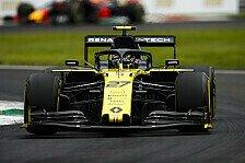 Formel 1 Monza, Renault gut drauf: Endlich einmal gute Basis
