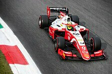 Formel 2, Tests: Schumacher an Tag 1 schneller als F3-Champion