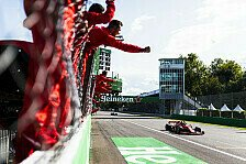 Formel 1 Monza - Presse: Ferrari-Gott Leclerc, Rentner Vettel