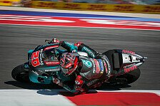 MotoGP Misano 2020: Fabio Quartararo mit FP2-Bestzeit