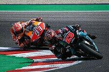 MotoGP: Wann schlägt Quartararo Marquez zum ersten Mal?