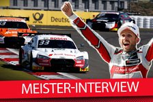 DTM - Video: DTM-Champion 2019 Rene Rast im Exklusiv-Interview