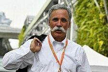 Formel-1-Boss Carey: 2021-Verträge in der Endphase