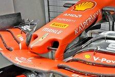 Formel 1: Neue Ferrari-Nase Sebastian Vettels Singapur-Hoffnung