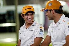 Formel 1 - Video: Formel 1: Kurioser Jahresrückblick mit Norris & Sainz