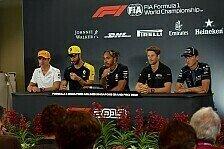 Formel 1 2019: Singapur GP - Donnerstag