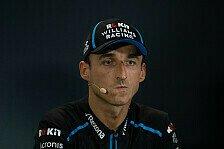 Formel 1, Kubica sauer auf Williams: Grenzen überschritten