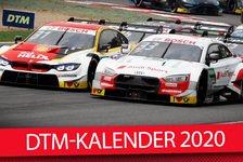 DTM-Kalender 2020: Überraschungs-Rennen nicht in Deutschland