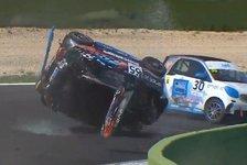 Unfall bei Smart-Rennen in Italien: Ende mit Vierfachüberschlag