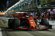 Formel 1 Singapur 2019, Vettel hadert mit Verkehr und Longruns