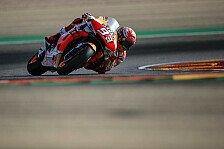 MotoGP Aragon: Marc Marquez deklassiert Gegner in FP1