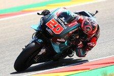 MotoGP Valencia 2019: Quartararo mit FP1-Bestzeit, Rossi stürzt