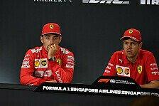 Formel 1 Singapur: Leclerc will Erklärung für Ferrari-Strategie