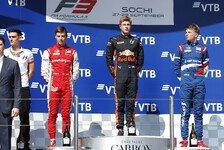 Formel 3 2019: Russland GP - Rennen 15 & 16