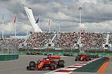 Formel 1, Wada sperrt Russland: F1-Rennen in Sotschi betroffen?