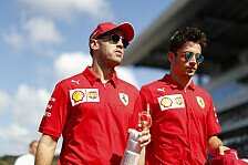 Formel 1, Russland vor einem Jahr: Vettel vs. Leclerc eskaliert