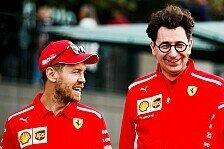 Ferrari 2021: Binotto will Vettel, Hamilton jetzt keine Option