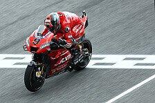 MotoGP Motegi 2019: Danilo Petrucci im nassen 3. Training vorn