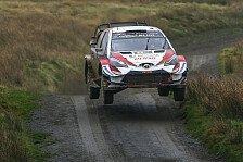 Sieg bei der Rallye Großbritannien: Tänak greift nach Titel