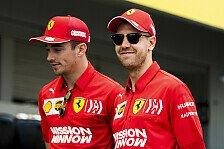 Vettel über Leclerc-Vergleich: F1 mehr Rennen gegen dich selbst