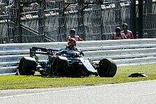 Formel 1 Japan: Kubica und Magnussen crashen, Rennen in Gefahr