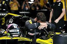 Formel 1: Renault disqualifiziert, Bremssystem illegal