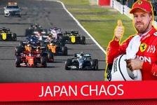 Formel 1 - Video: Japan GP: Warum bekam Vettel keine Strafe für den Frühstart?
