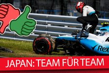 Formel 1 - Video: Team für Team: Die Tops & Flops vom Japan GP 2019
