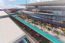 Formel-1-Rennen in Miami: Vorvertrag und erste Streckenskizze