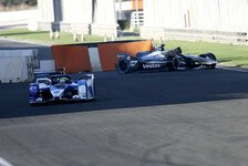 Formel-E-Test Valencia, Tag 2: Flaggen-Chaos und Test-Rennen