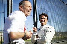 Formel-E-Rookie Nyck de Vries trauert Formel 1 nicht hinterher