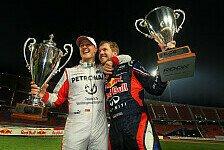 Vettel foppt Amazon-Analyse: Schwachsinn, Schumi der Schnellste