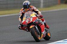 MotoGP - Marc Marquez auf Motegi-Pole, aber unsicher für Rennen