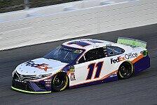 NASCAR Kansas: Denny Hamlin siegt nach zwei Verlängerungen
