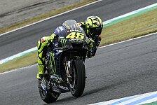 MotoGP - Valentino Rossi schlittert in Debakel: Haben Probleme
