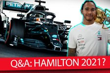 Formel 1 - Video: Formel 1 Q&A: Verlässt Lewis Hamilton Mercedes 2021?
