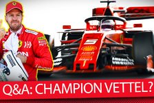 Formel 1 - Video: Formel 1 Q&A: Ist Sebastian Vettel zurück zu alter Stärke?