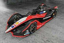 Formel E: Nissan präsentiert Rennauto im Kimono-Design