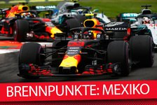 Formel 1 - Video: Formel 1 2019: 5 Brennpunkte vor dem Mexiko GP