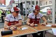 Formel 1 - Video: F1-Video: Räikkönen dreht Giovinazzi Döner zum Dinner an
