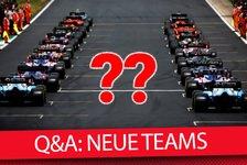 Formel 1 - Video: Formel 1 Q&A: Gibt es bald neue F1-Teams?