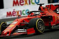 Formel 1 Ticker-Nachlese Mexiko: Vettel holt Freitags-Bestzeit