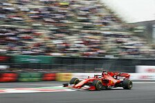 Formel 1 Mexiko 2. Training: Vettel entreißt Hamilton Bestzeit