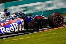 Formel 1 Mexiko, Toro Rosso in Topform: Gasly giert nach mehr