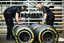 Formel 1: Pirelli kritisiert F1 für irreführende Reifen-Grafik
