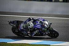 MotoGP Phillip Island: Maverick Vinales legt im Warm-Up vor