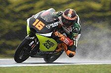Moto3 Valencia 2019: Andrea Migno holt die Pole