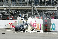 Formel 1, Bottas schimpft über Mexiko-Barriere: Etwas hässlich