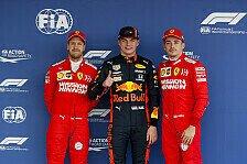 Formel 1, Mexiko-Qualifying: Leclerc erbt Pole von Verstappen