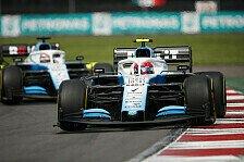 Formel 1: Williams-Duell sorgt für Ärger
